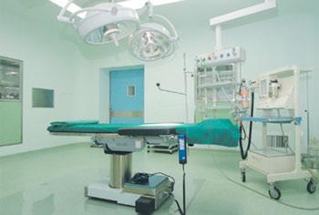 先进的无菌手术室